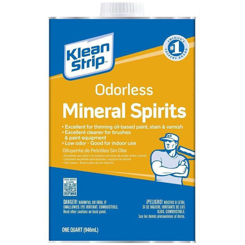 Klean-Strip - Odorless Mineral Spirits, 1-Quart - Wholesale Home Improvement Products