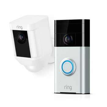 Ring Video Doorbell 2 with Spotlight Cam Battery