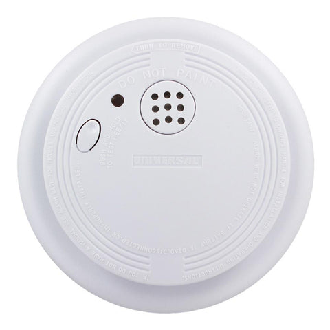 USI Electric - SS-901-LR - 9-Volt Battery Operated Photoelectric Smoke and Fire Alarm