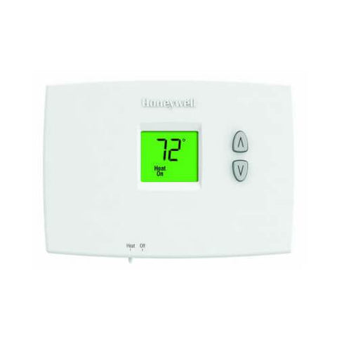 Honeywell - TH1100DH1004 Horizontal PRO 1000 Non-Programmable Thermostat Heat Only - Wholesale Home Improvement Products
