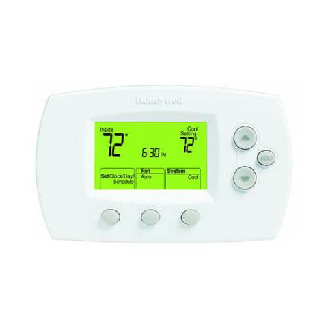 Honeywell - TH6110D1005/U FocusPRO 6000 Programmable Thermostat - Wholesale Home Improvement Products