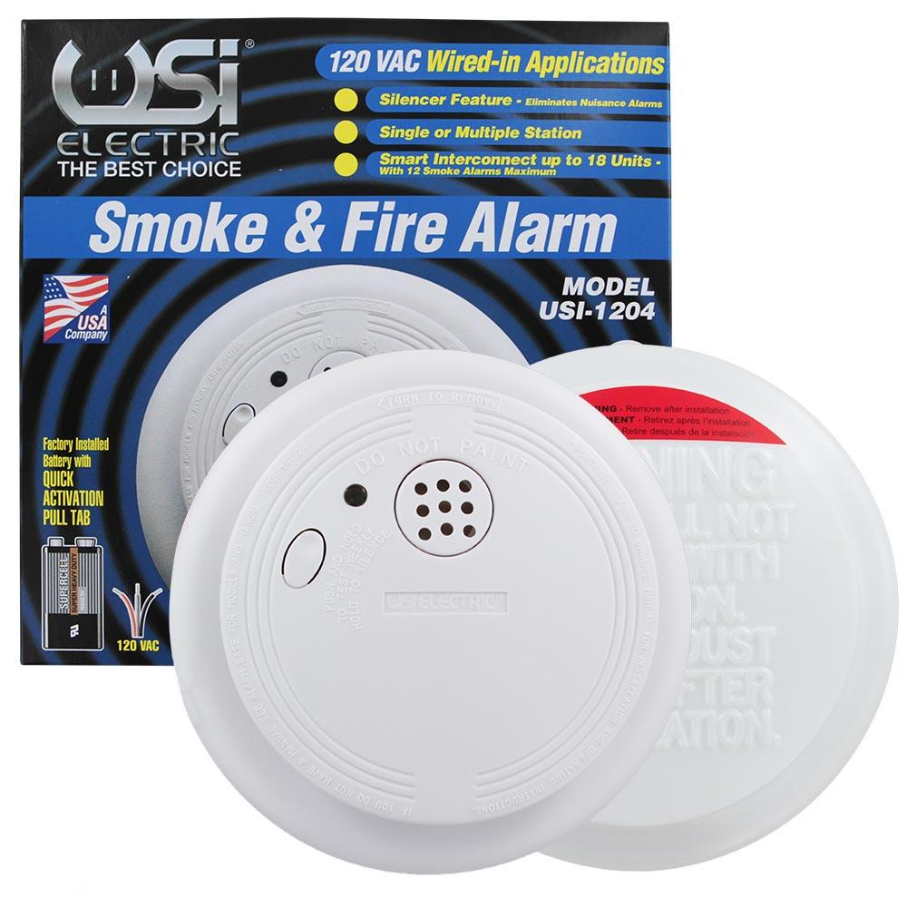 Usi Electric Smoke Detector Interconnected Smoke Alarms