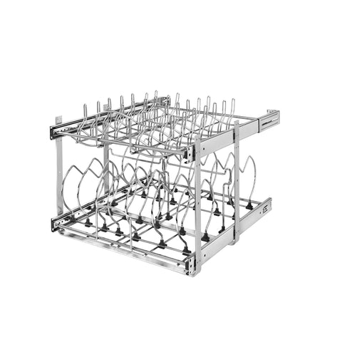 Rev-A-Shelf 5CW2-2122-CR / 21 in Two-Tier Cookware Organizer