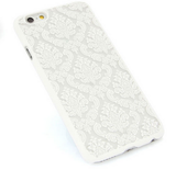 iPhone 6/6S Plus, 6/6S, SE, 5/5S - Damask Lace With Matching Border Case in Assorted Colors