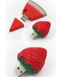 Novelty Fruit 2.0 USB, 8 GB Storage Drive in Assorted Designs