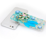 iPhone 6 - Aqua Parrot or Winged Pegasus Purple Case