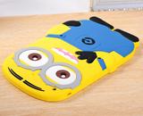 iPad 2, 3, 4, iPad Air 1, Mini: All - Cute Despicable Me Minions Case in Assorted Colors
