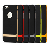 iPhone 6/6S Plus, 6/6S, SE - Trim, Shock-Absorbent, 2-Tone Case in Assorted Colors