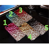 iPhone 6/6S, 6/S Plus - Trendy Crinkled Foil Design Case in Assorted Colors