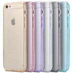 iPhone 6/6S  - Pastel Candy Bling Soft Gel Case in Assorted Colors
