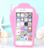 iPhone 6/6S, 6/6S Plus, 5/5S - Summer Fun Sea Shell Soft Case in Assorted Colors