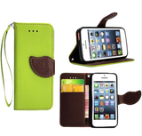 iPhone SE, 5/5S - Chic Textured Wristlet Wallet Case in Assorted Colors