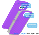 Galaxy S7, S7 Edge - Non-Slip, Armor, Dual Layer Case in Assorted Colors