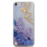 iPod Touch 6, 5 - Summer Fun Sparkling Blue Case in Assorted Designs