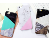 iPhone 6/6S, 6/6S Plus - Marble Allure Soft Case in Assorted Colors