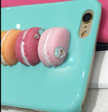 iPhone 6/6S Plus, 6/6S - Parisiens Macarons Cookies Case in Assorted Colors