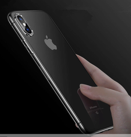 iPhone X (10) - Crystal Clear and Ultra-Thin Transparent Protective Case