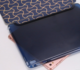 iPad Air 2 - Modern Geo Wave Smart Case in Assorted Colors