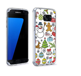 Galaxy S7, S7 Edge - Festive Merry Christmas Cases in Assorted Designs