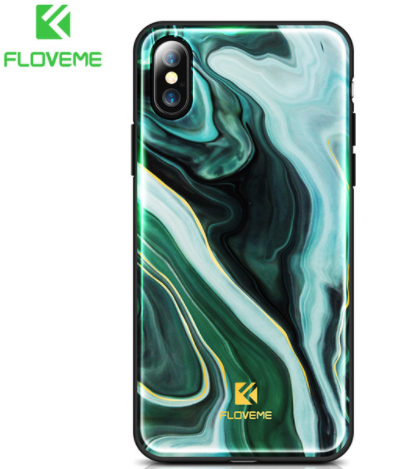 iPhone X, 8 Plus/8, 7 Plus/7 - Flowing Watercolors  Case in Assorted Colors