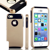 iPhone 6 Plus, 6, 5/5S - Elegant Gold Matte & Textured Case in Assorted Colors