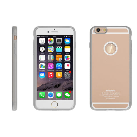 Qi Charging Case for iPhone 6/6s - Beautifully Designed Qi Charging Case in Assorted Colors