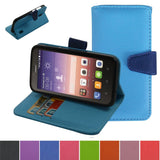 Huawei Honor 7 - Stand-Out Two Color Wallet Case in Assorted Colors