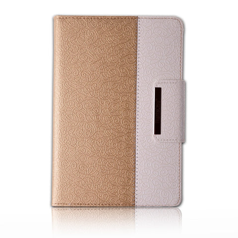 iPad Pro - Classy Textured Rotating Cardholder Case in Assorted Colors