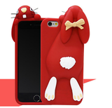 iPhone 6/6S Plus, 6/6S, 5/5S - Cute Chubby Bunny With Buck Teeth in Assorted Colors