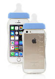 iPhone 6/6S, 6/6S Plus, 5/5S - Ultra-Cute Baby Bottle Case in Assorted Colors