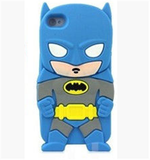 iPhone 6 Plus, 6, 5/5S - Heroes: Batman, Superman, Spiderman, Capt. America Case