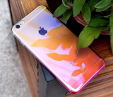 iPhone 6/6S, 6/S Plus - Shifting Gradient Transparent Case in 3 Colors