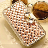 ZTE ZMAX - Sparkling Crystal Bow Wallet Case in Assorted Colors