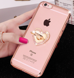 iPhone 6/6S Plus, 6/6S, SE/5/5S - Shimmering Crystal Rhinestone Bling Cases in Assorted Designs