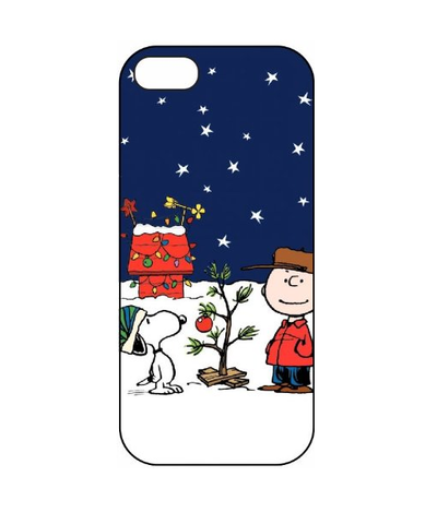 iPhone SE / 5/5S *RED TAG* - Holiday Charlie Brown & Snoopy Christmas Case