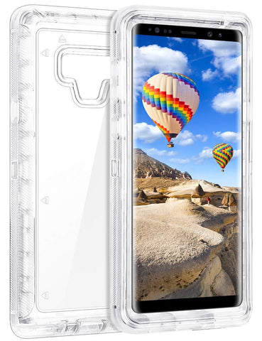 Galaxy Note 9, 8, S9, S9 Plus - Ultra Protection Clear Case in Assorted Tints