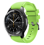 Gear S3 - Striking and Sporty Silicone Straps in Mulitple Colors