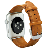 Apple Watch - Supple and Soft, Distressed-Leather Bands in 2 Colors