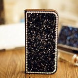 ZTE ZMAX - Rhinestone Sparkle Wallet Case in Assorted Colors
