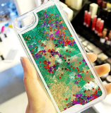iPhone 6 Plus, 6, 5/5S, 4/4S - Shimmering Fairy Dust & Stars Clear Case in Assorted Colors