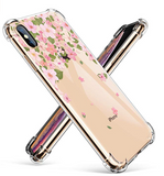 iPhone XS Max - Spectacular Floral Painted Cases in Assorted Patterns