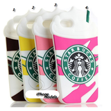 iPhone 6 Plus, 6, 5/5S, SE - Springtime Frap Cafe Case in Assorted Colors