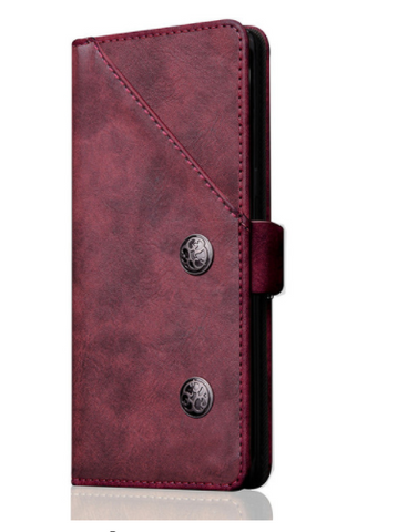 Galaxy Note 8 - Smooth, Rich Leather Wallet Case in 3 Colors