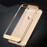iPhone 6 Plus, 6 - Clear Case With Color Polished Frame in Assorted Colors