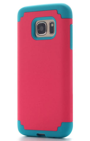 Galaxy S7/S7 Edge - Gorgeous Creamy Smooth Rugged Hybrid Case in Assorted Colors