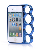 iPhone 6, 5/5S, SE, 4/4S - Hot Metallic Finger Knuckle Case in Assorted Colors