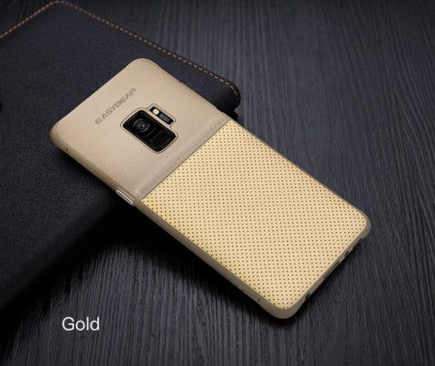 Galaxy Note 9, 8, S9, S8, S8+ - Luxury Leather Textured Ultra Thin Case in Assorted Colors