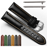 Gear S3 - Smooth and Elegant Leather Straps in Mulitple Colors