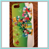 iPhone SE / 5/5S *RED TAG* -Classic Holiday Mickey & Pals Christmas Case
