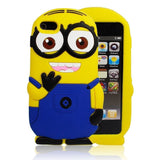 iPhone 6 Plus, 6, 5/5S, 4/4S - Two-Eyed Despicable Me Minion Soft Case